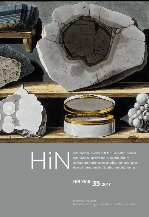 Cover von HiN XVIII, 35 (2017)